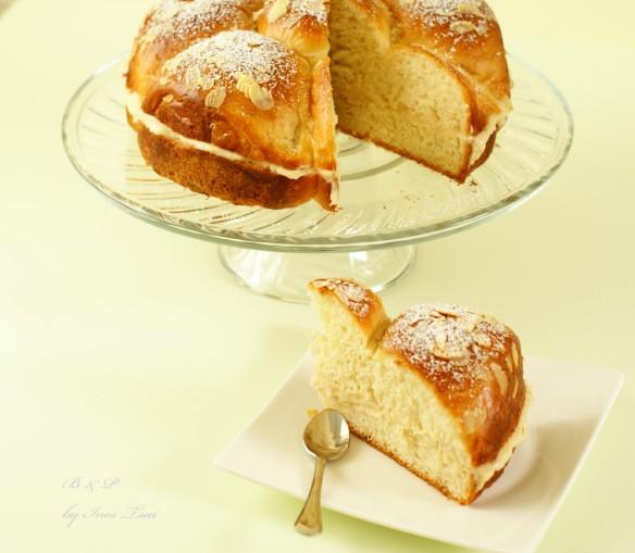 Brioche cake